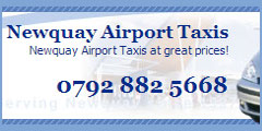 Newquay Airport Taxis logo